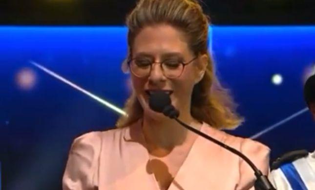 צפו: נאומה המרגש של עדי אלטשולר בטקס המשואות