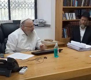 יהדות, על סדר היום צפו: הרב שמואל אליהו מוכר את החמץ של גולשי 'סרוגים'