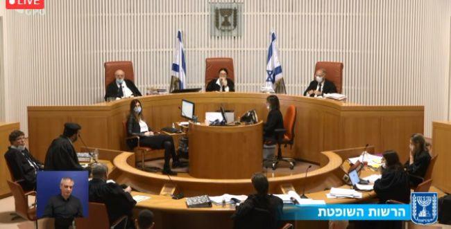 """לראשונה בישראל: בג""""צ קיים דיון בשידור חי"""
