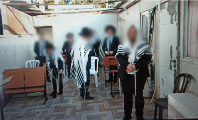המשטרה תפסה שני בתי כנסת שקיימו תפילה בשבת