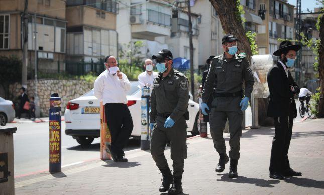המשטרה סגרה ישיבה בבני ברק השוטרים חטפו אבנים