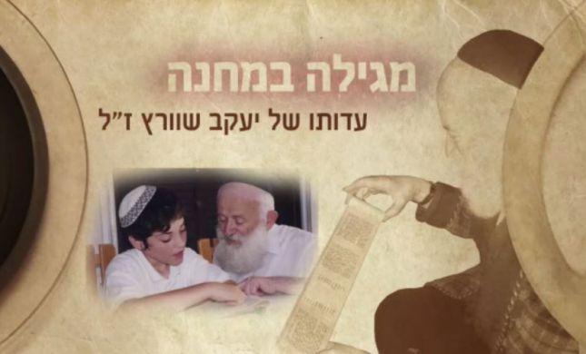 בלתי נתפס: הניצול שכתב את מגילת אסתר בשואה. צפו