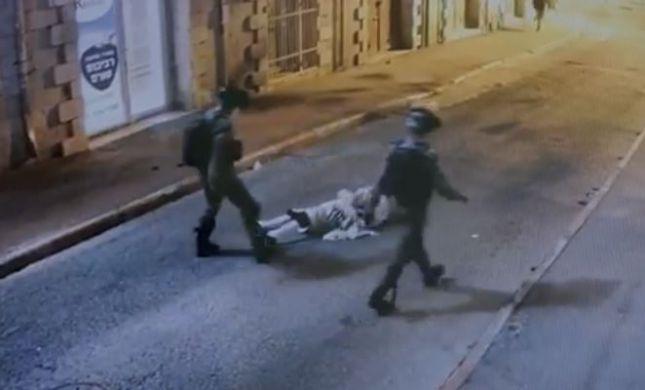 סרטון האלימות במאה שערים: שני שוטרים נחקרו