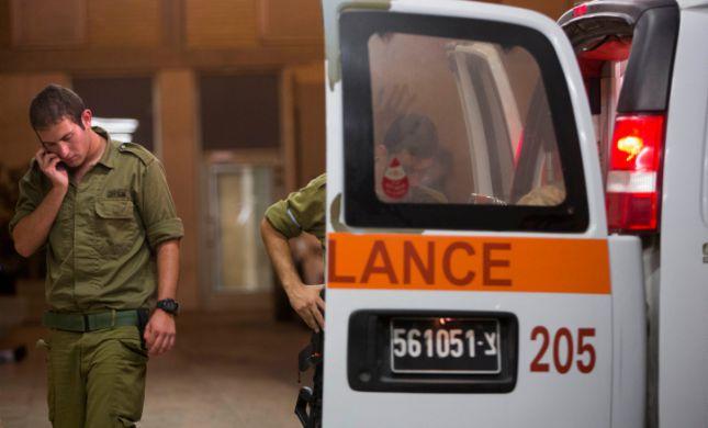 """הותר לפרסום: קצין צה""""ל נפצע מפליטת כדור של לוחם"""