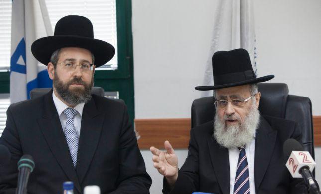"""הרבנים הראשיים מספידים: """"חלל גדול בעולם היהודי"""""""