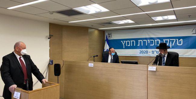 הרבנים הראשיים מכרו את החמץ של המדינה