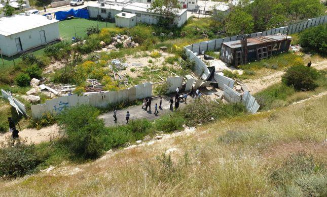 המשטרה פיזרה תלמוד תורה של הפלג הירושלמי