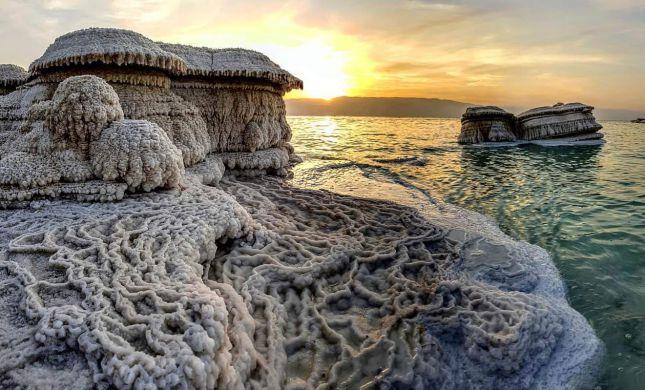 גם בסגר הקורונה: ים המלח מצליח להגיע לכל העולם