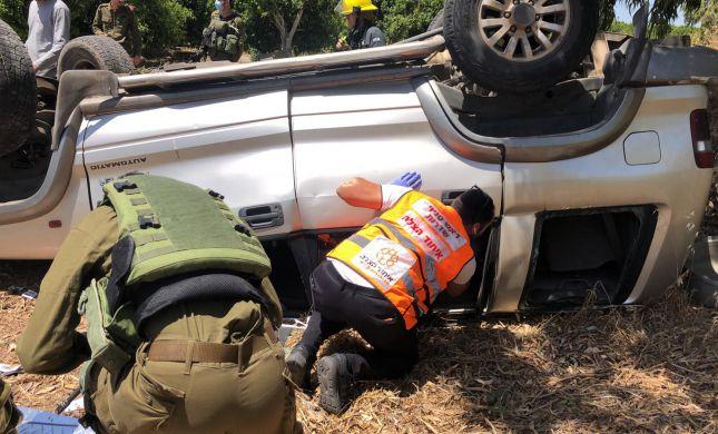 בן 30 נהרג בהתהפכות רכב שטח סמוך למסעדה