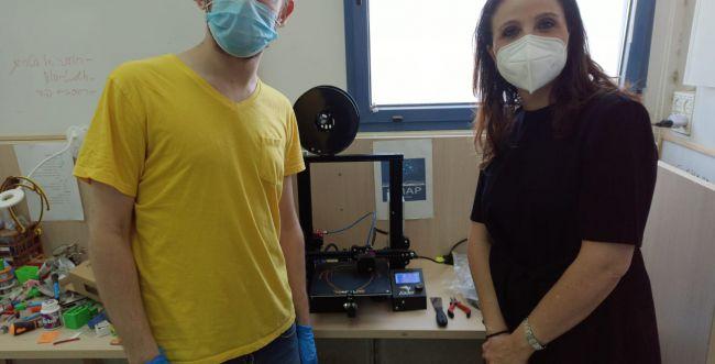 חדש: מסכות הגנה לבתי חולים מודפסות בתלת מימד