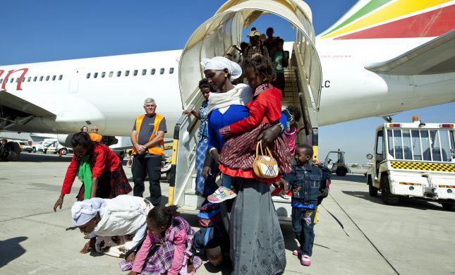 119 עולים מאתיופיה יגיעו לישראל בטיסה מיוחדת