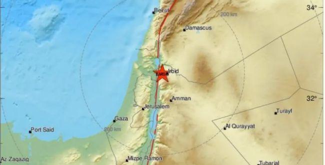 תוך שעה: שתי רעידות אדמה הורגשו בצפון הארץ