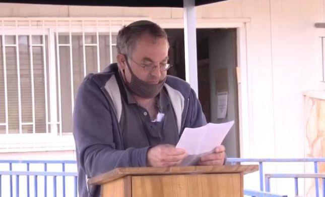 """הרב נחום רבינוביץ' הובא למנוחות: """"נקי כפיים"""""""