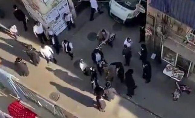"""חייל הותקף בשכונת מאה שערים וחולץ ע""""י המשטרה"""