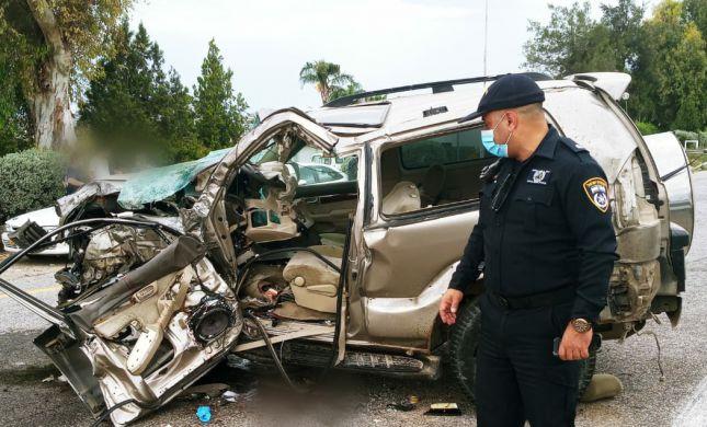 תאונה קשה בין אוטובוס לג'יפ בכביש 92