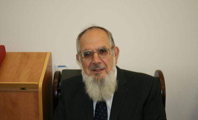 ראש ישיבת מעלה אדומים הרב נחום רבינוביץ' נפטר