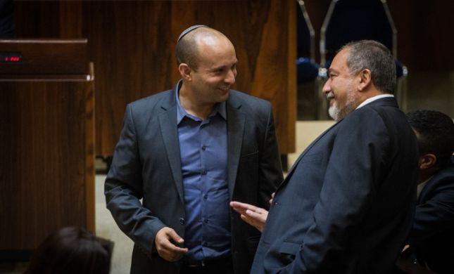 בנט וליברמן יקימו גוש של 12 מנדטים באופוזיציה