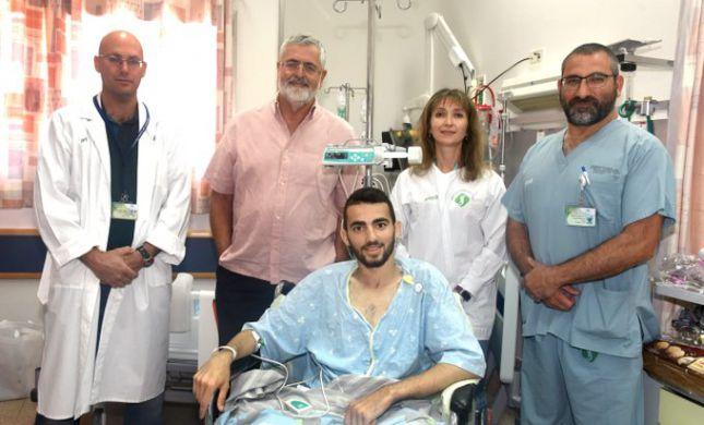הלוחם שנפצע בפיגוע הדריסה שוחרר מסורוקה