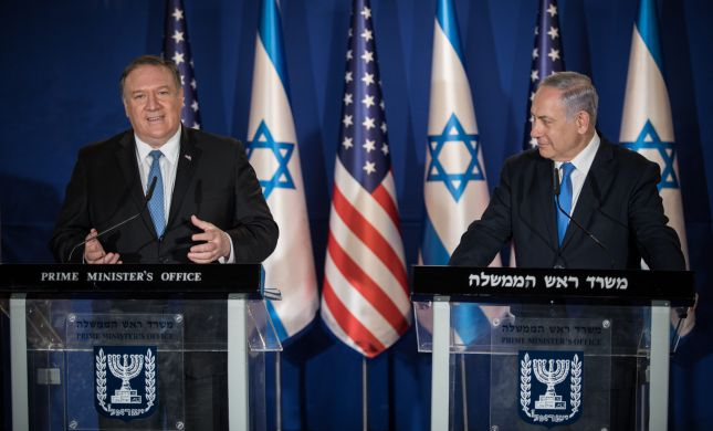 """פומפאו: """"הסכמי שלום רבים עוד ייחתמו עם ישראל"""""""