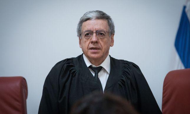 דרמה: שופט העליון מני מזוז הודיע על התפטרותו