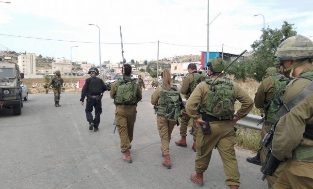 פיגוע דריסה בהר חברון; חייל נפצע בינוני עד קשה