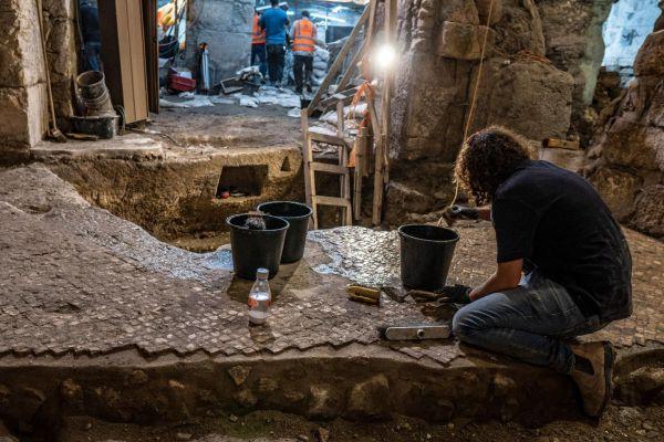 מערכת תת קרקעית מימי בית שני התגלתה ליד הכותל