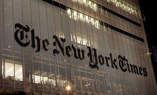 בעקבות טור דעה: עורך הניו יורק טיימס התפטר מתפקידו