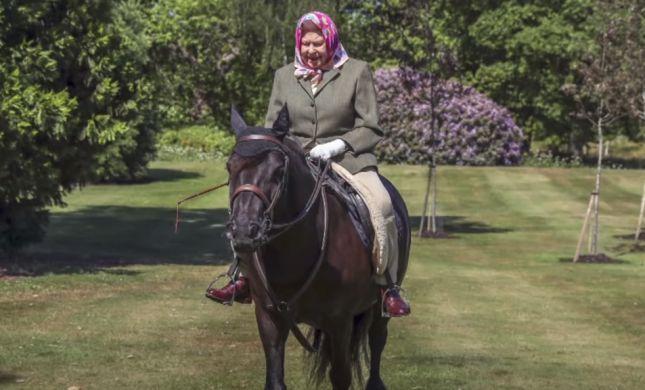 התחביב עליו המלכה לא מוותרת גם בגיל 94