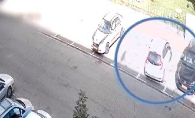 תושב חיפה גנב מרכב עשרות אלפי שקלים. צפו: