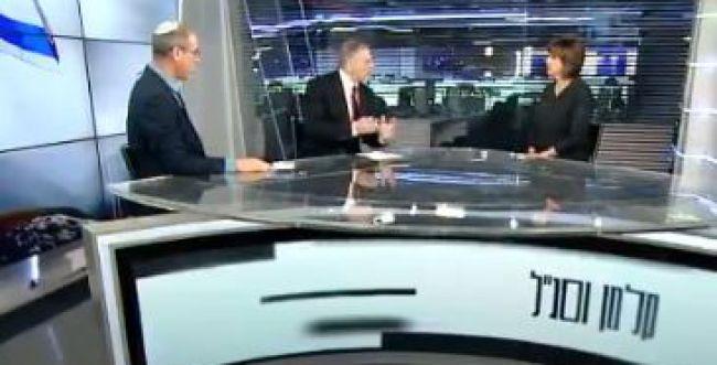 """זהבה גלאון פוצצה ראיון עם ליבסקינד וסג""""ל. צפו"""