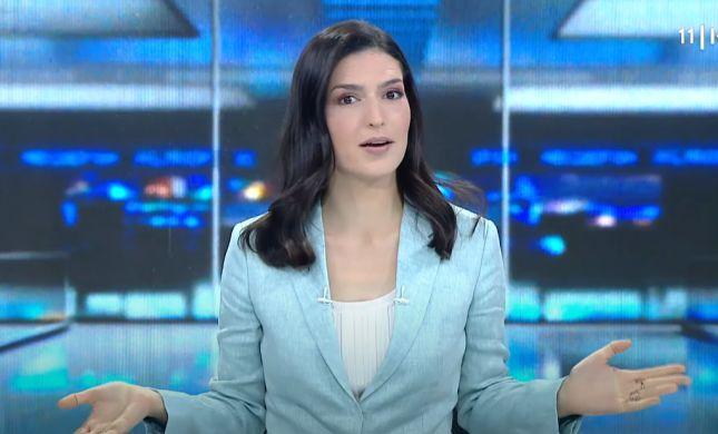 בגלל העורך הלשוני: מגישת החדשות נכנסה לבידוד