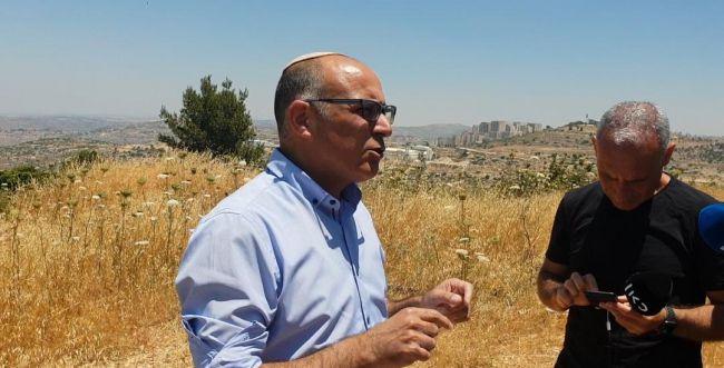 """דילמוני: הערבים כבר קיבלו 40% מהשטח ביו""""ש"""