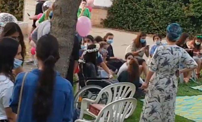צפו: החגיגות המרגשות בצל הסרטן האלים והקורונה