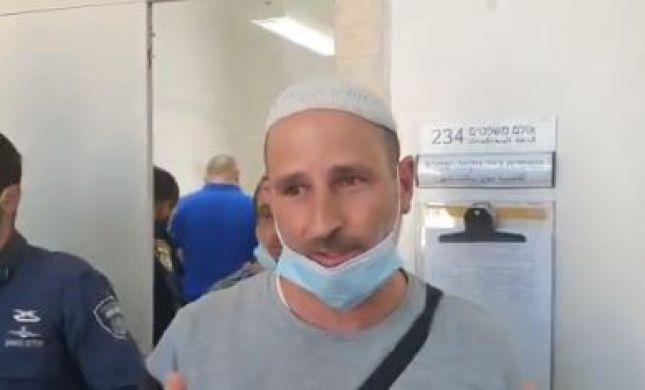 """בית המשפט שחרר את פעיל להב""""ה, הוא נעצר מייד שוב"""