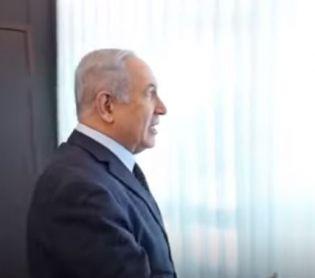 ויראלי, מבזקים צפו: הולוג הראשון של ראש הממשלה נתניהו