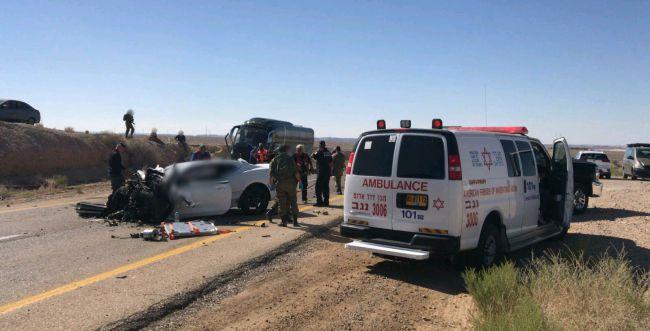 הרוג ושמונה פצועים בתאונה קשה בדרום