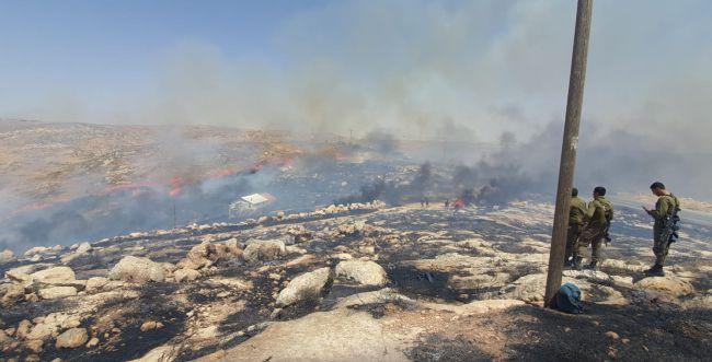 הושגה שליטה על האש; התושבים לא יעשו שבת ביישוב