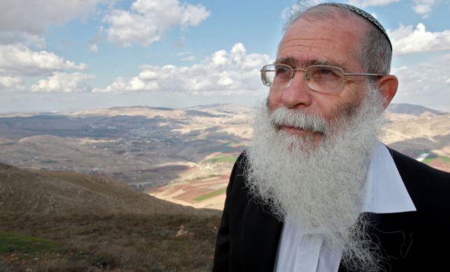 """הרב לבנון: """"תכנית הריבונות - מכת מוות להתיישבות"""""""