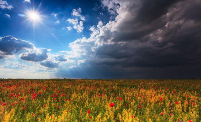 שבוע הפכפך| עלייה בטמפ', שרב וגשם: תחזית מזג אוויר לשבוע הקרוב