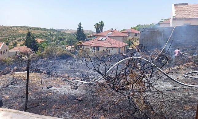 שריפה פרצה בין מספר בתים ביישוב נחליאל