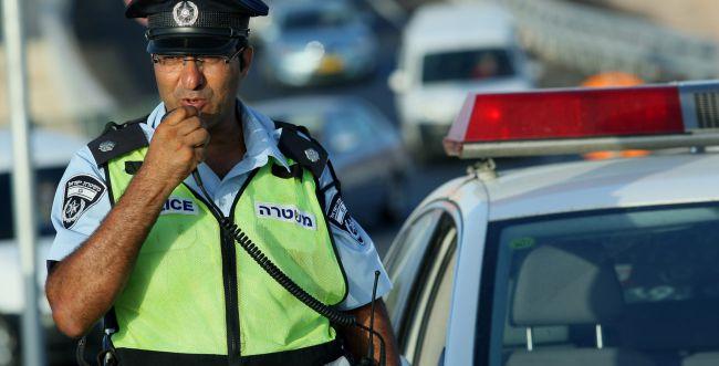 ערבי נתפס נוהג כשבגופו כמות אלכוהול עצומה