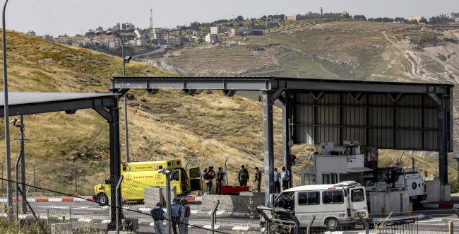 פיגוע דריסה בסמוך לירושלים, לוחמת נפצעה