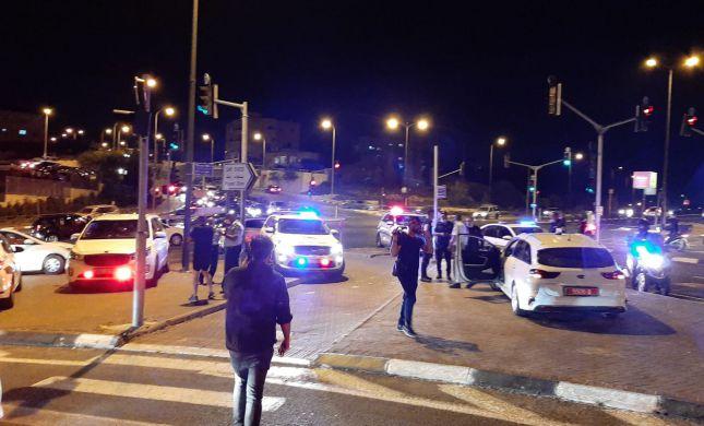 אירוע דריסה בירושלים: שוטרת נפצעה; הדורס נמלט