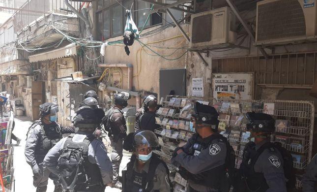 התפרעות במאה שערים: שוטרים הותקפו באבנים