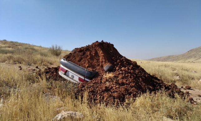 כוחות המִנהל קברו רכב של מתיישבים ליד כוכב השחר