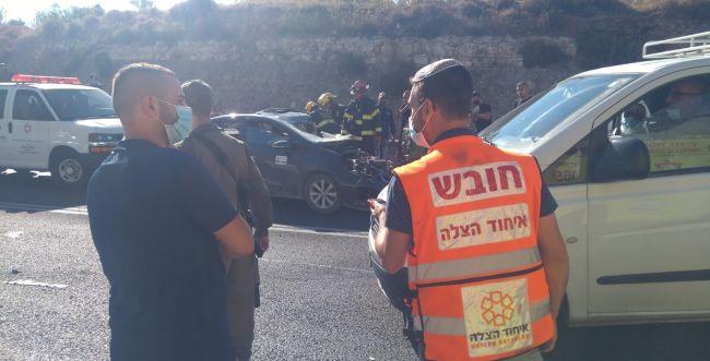 הרוג ופצוע קל בתאונת דרכים מחוץ לנווה דניאל