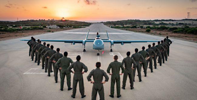 בתום שנת הכשרה: הסתיים קורס מפעילי כלי טיס ה-35