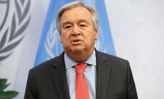 """מזכ""""ל האו""""ם: """"הסיפוח הוא הפרה של החוק הבינלאומי"""""""