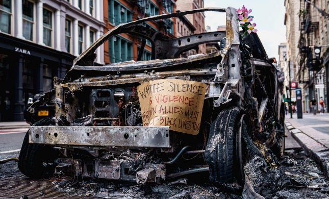 בגלל המהומות: עוצר הוטל הלילה על ניו יורק