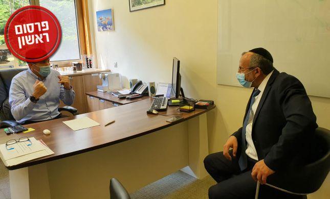 פגישה בין שר הדתות למתן כהנא לקידום הרבנות ורבני עיר